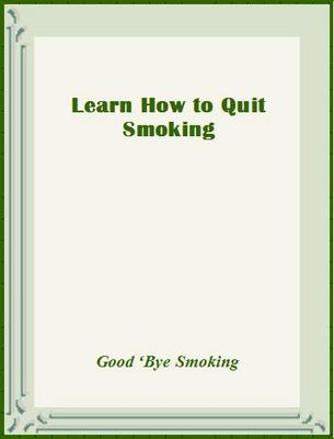 Product picture Learn How to Quit Smoking