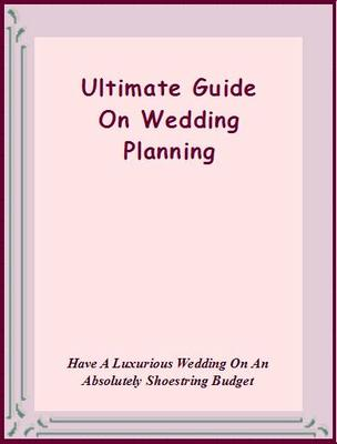 Product picture Ultimate Guide On Wedding Planning